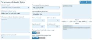 EWS Pro KPI editor